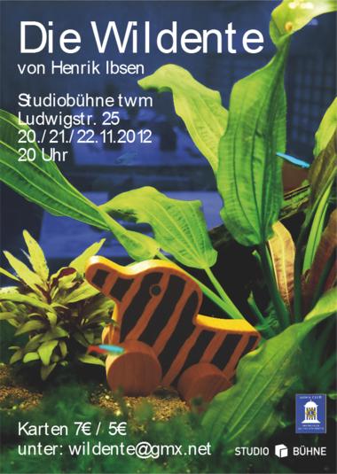 Die Wildente Poster A4 Druck 31-10-2012